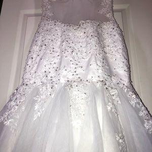 Wedding dress size 0